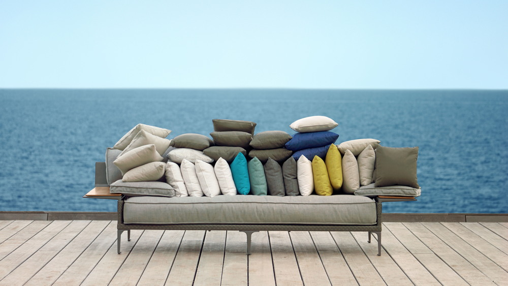 dedon husse f r rayn daybed inkl armlehne rechts gartenm bel fachhandel. Black Bedroom Furniture Sets. Home Design Ideas