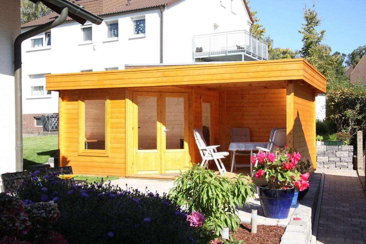 gartenhaus wolff finnhaus maja 40 a mit terrasse 350 vom garten fachh ndler. Black Bedroom Furniture Sets. Home Design Ideas