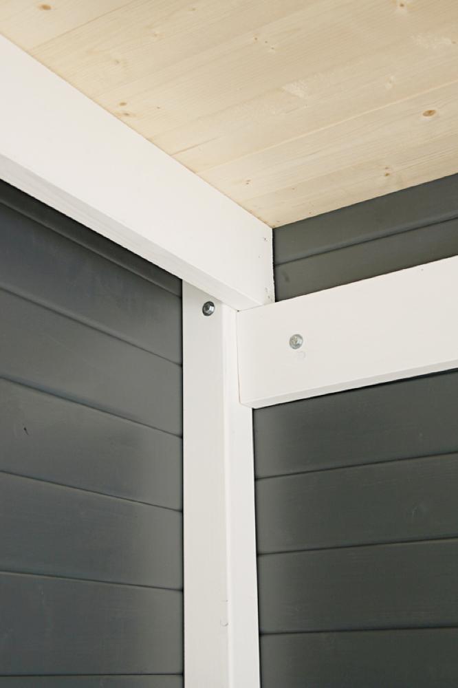 gartenhaus wolff finnhaus pulti softline 3030 vom garten fachh ndler. Black Bedroom Furniture Sets. Home Design Ideas