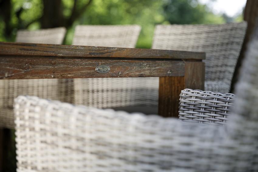 Teak Gartenmobel Pflegen :  Teak Holz Polyrattan  Diamond Garden GartenmöbelSerie Sitzgruppen