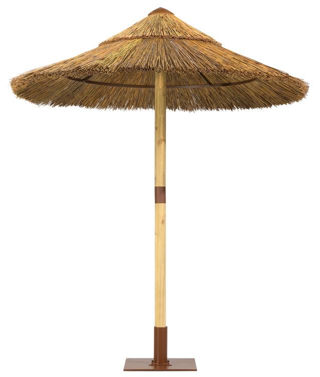 stroh sonnenschirm schneider sambesi bast stockschirm 200 cm parasol. Black Bedroom Furniture Sets. Home Design Ideas