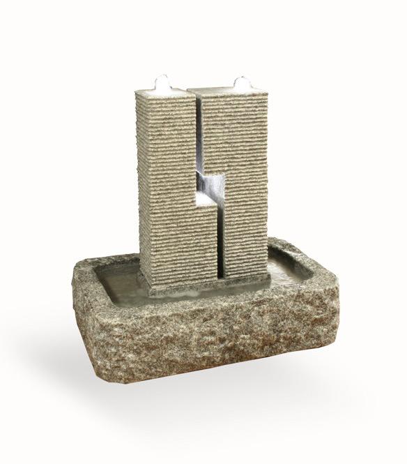 wasserspiel garten granit – rekem, Garten und Bauen