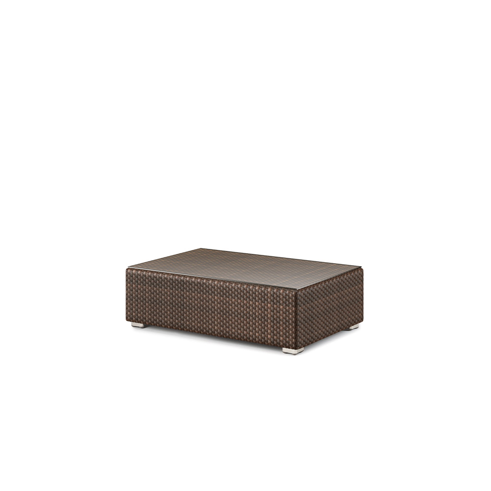 dedon lounge hocker kaffeetisch 65 x 110 cm gartenm bel fachhandel. Black Bedroom Furniture Sets. Home Design Ideas