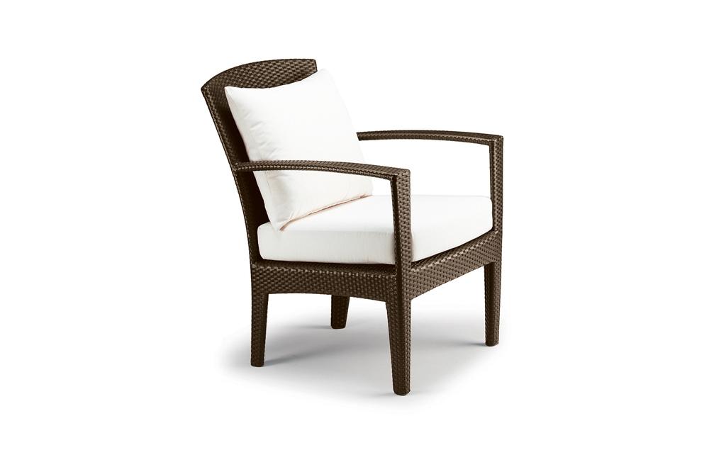 DEDON PANAMA Lounge-Sessel Polyrattan mit Armlehnen | Gartenmöbel ...