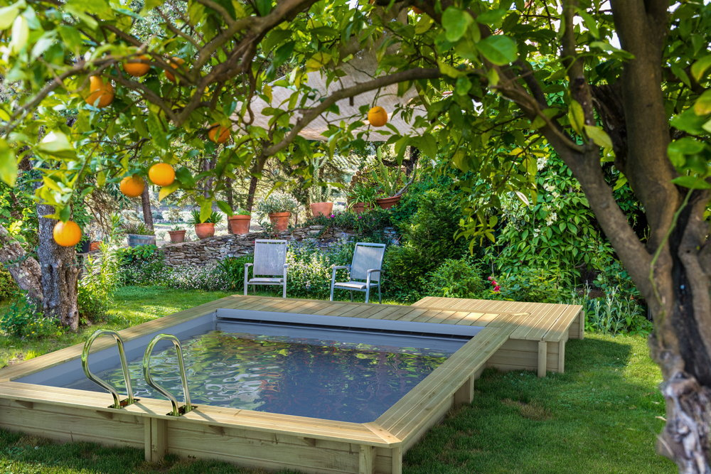 Holzpool hoody swimmingpool gartenpool for Garten pool 2 5m