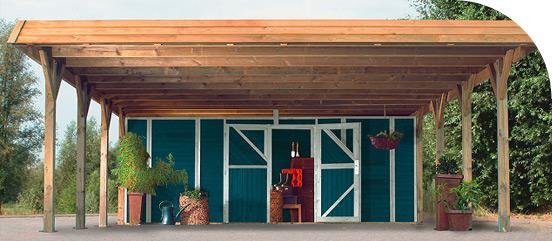 Carport aus Holz Introbild