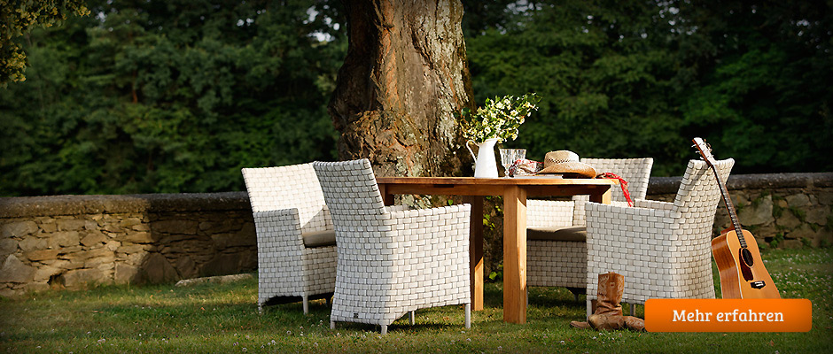 gartenmöbel polyrattan teak-holz aluminium edelstahl kunststoff, Moderne