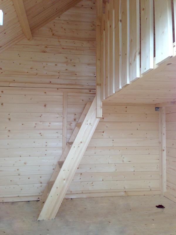 kinder spielhaus tree chambers kids anna holz. Black Bedroom Furniture Sets. Home Design Ideas
