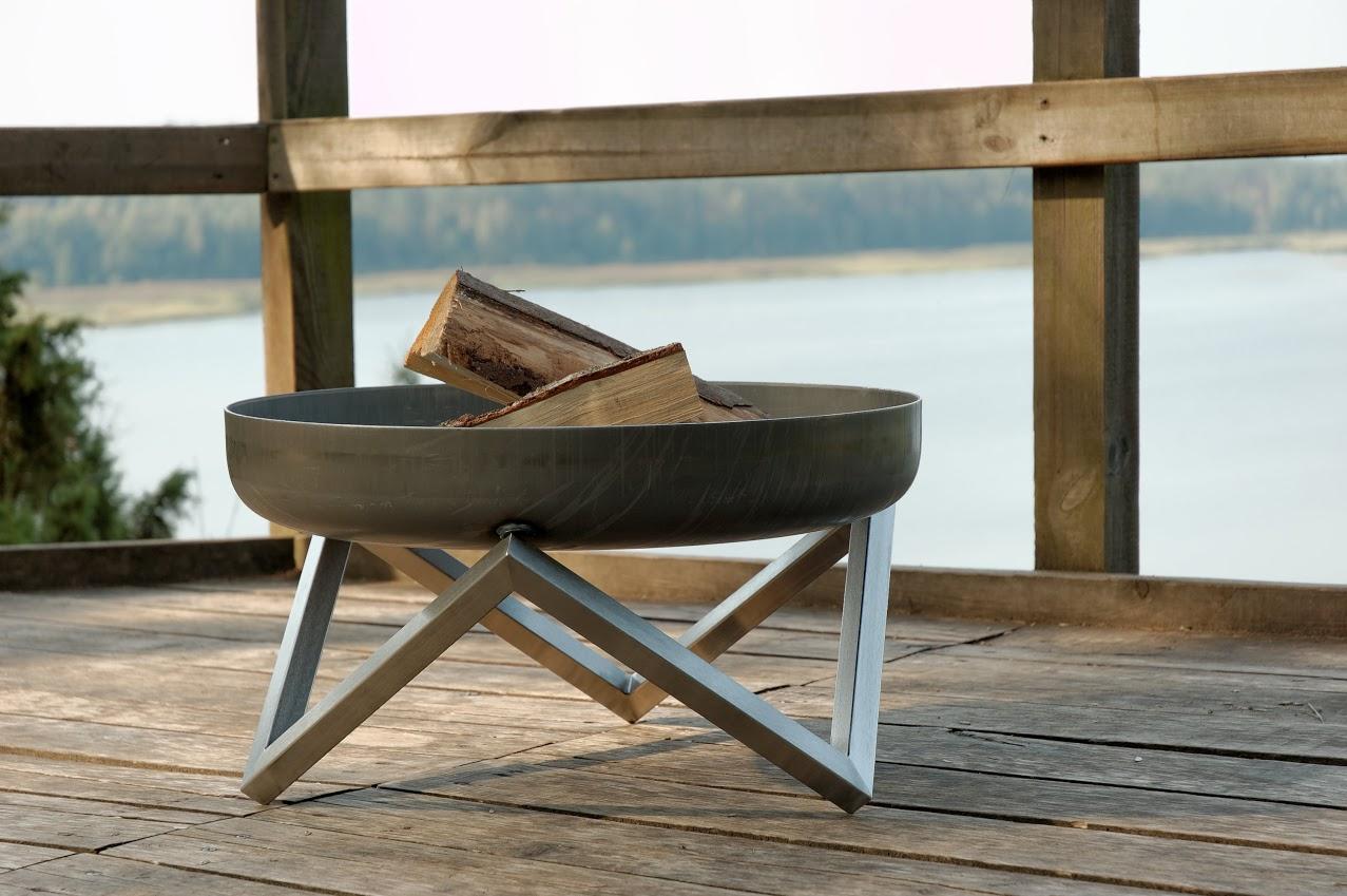 svenskav design feuerschale z terrassenfeuer feuerstelle terrassenofen vom spielger te. Black Bedroom Furniture Sets. Home Design Ideas
