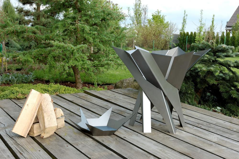 svenskav feuerkorb phoenix terrassenfeuer feuerstelle terrassenofen gartenm bel fachhandel. Black Bedroom Furniture Sets. Home Design Ideas