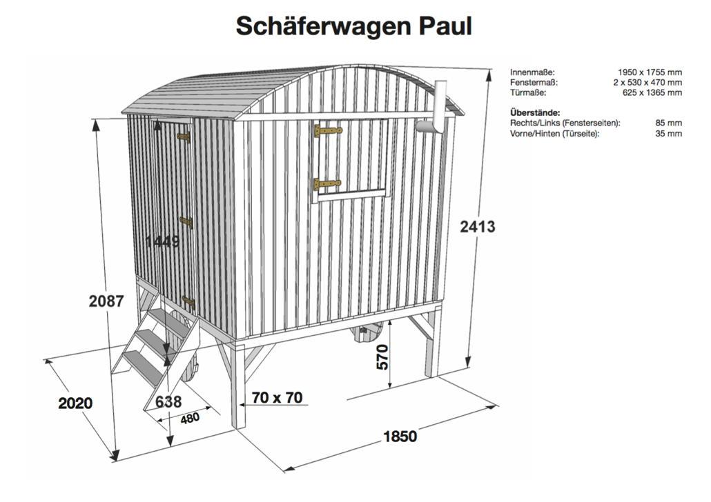 kinder spielhaus wolff sch ferwagen paul holz. Black Bedroom Furniture Sets. Home Design Ideas