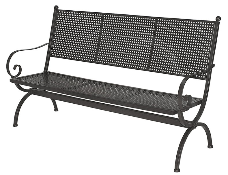 gartenbank metall kettler 185740 eine. Black Bedroom Furniture Sets. Home Design Ideas
