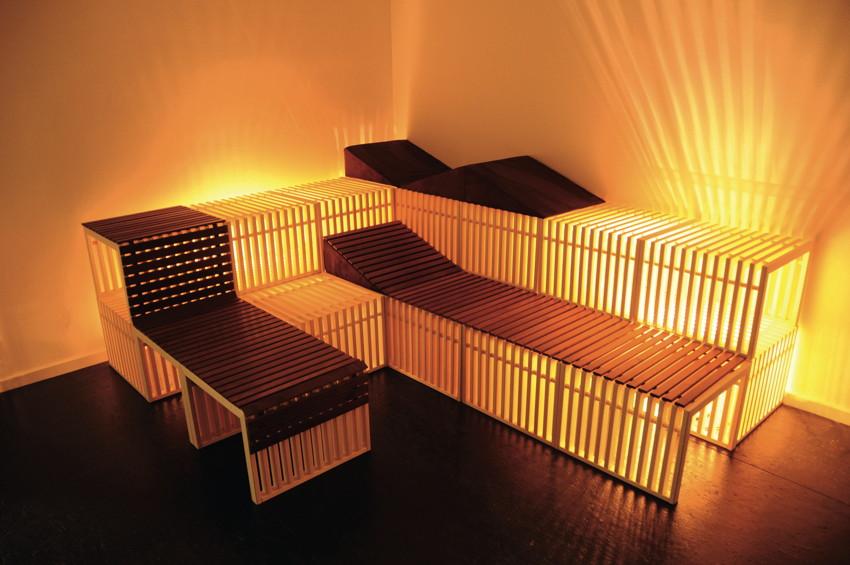 saunalux liegerost f r w rfel vom garten fachh ndler. Black Bedroom Furniture Sets. Home Design Ideas