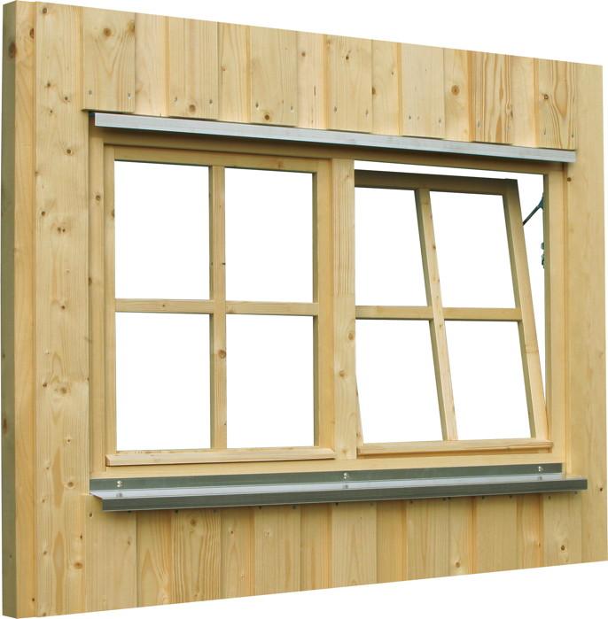 Carport Fenster Skanholz Doppelfenster Holzfenster Dreh Kipp