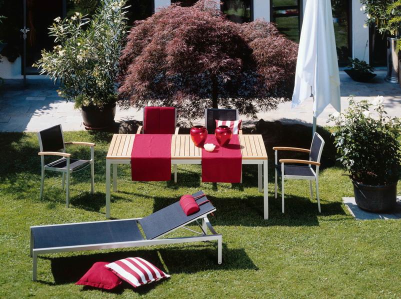 Outdoorküche Klappbar Forum : Gartenstuhl fischer «forum» collection sessel aluminiumstuhl mit