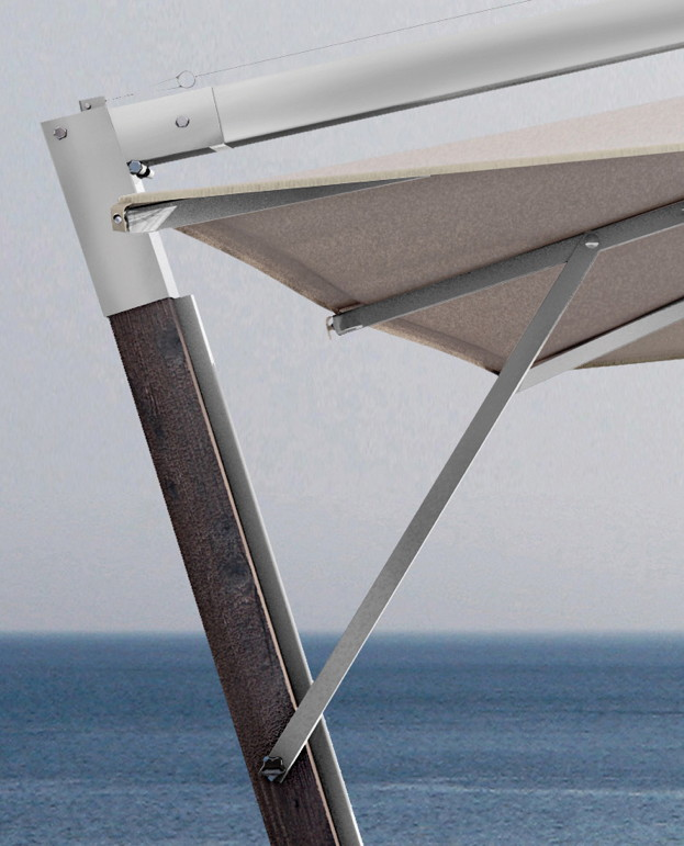 sonnenschirm scolaro giotto braccio 3x4 ampelschirm aluminiumschirm gartenm bel fachhandel. Black Bedroom Furniture Sets. Home Design Ideas