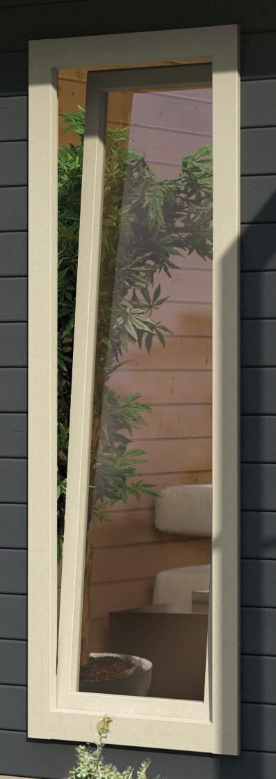Kinderspielhaus Holz Hochwertig ~ Einbaufenster KARIBU für Gartenhaus Cube  Holz Angebot