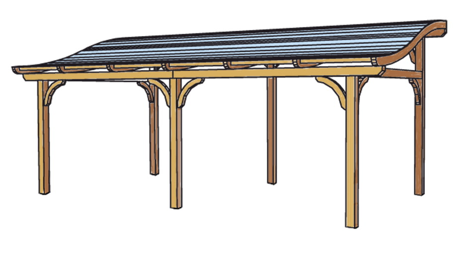 terrassen berdachung holz bausatz skanholz tivoli. Black Bedroom Furniture Sets. Home Design Ideas