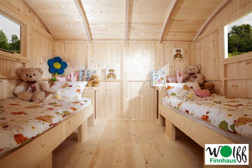 kinder spielhaus wolff camping bauwagen holz stelzen. Black Bedroom Furniture Sets. Home Design Ideas