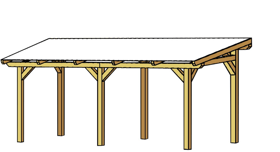 terrassen berdachung holz bausatz skanholz siena freistehend terrassendach terrassen berdachung. Black Bedroom Furniture Sets. Home Design Ideas