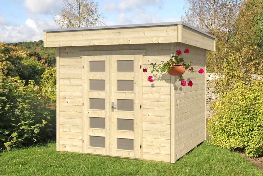 Gartenhaus skanholz venlo blockbhlen holzhaus doppelt r gartenhaus aus holz g nstig kaufen - Gartenhaus ausbauen ...