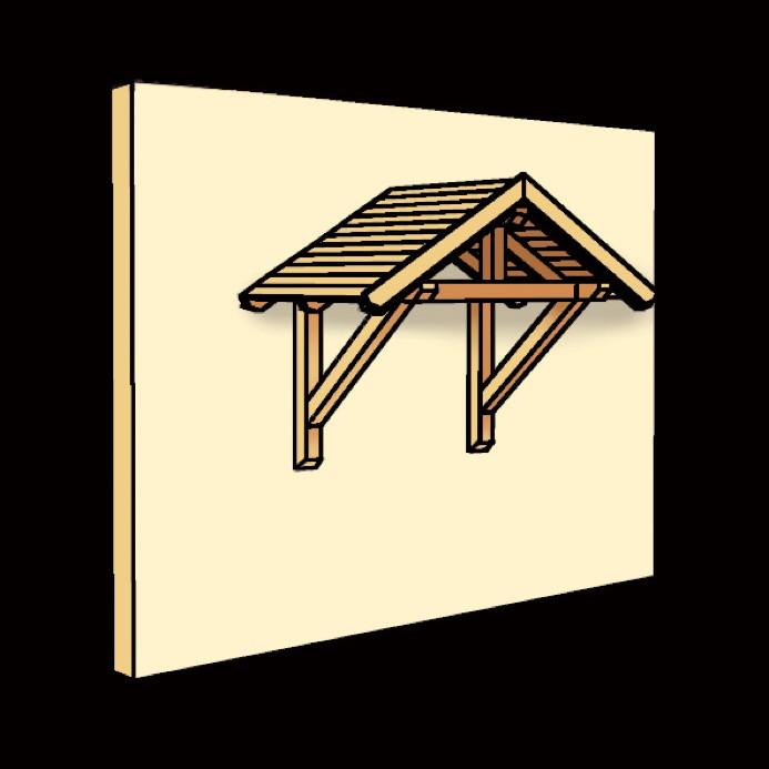 holz vordach bausatz praktiker ~ beste home design inspiration,