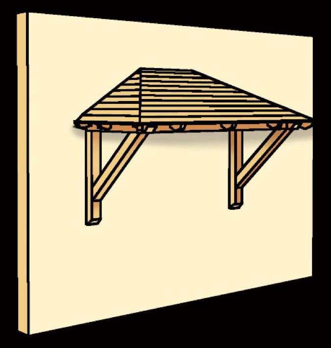 Gartenhaus dachziegel