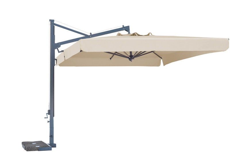 sonnenschirm scolaro galileo maxi 4x4 ampelschirm aluminium hanging parasol vom garten. Black Bedroom Furniture Sets. Home Design Ideas