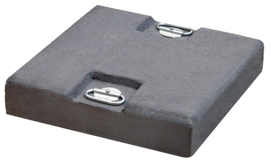 betonplatte scolaro betonplatte grau beschwerungsplatte f r schirmst nder gartenm bel fachhandel. Black Bedroom Furniture Sets. Home Design Ideas