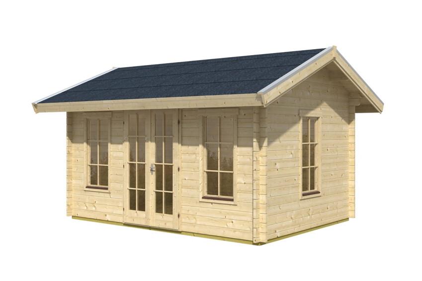 gartenhaus skanholz montreal blockbohlen holzhaus fenster doppelt r gartenhaus aus holz. Black Bedroom Furniture Sets. Home Design Ideas