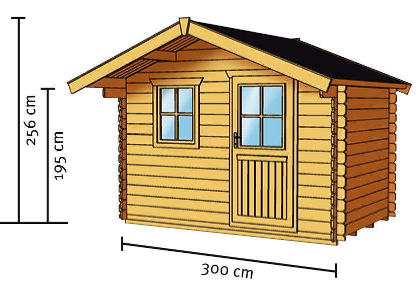 gartenhaus skanholz como blockbohlen holzhaus mit fenster einzelt r gartenhaus aus holz. Black Bedroom Furniture Sets. Home Design Ideas