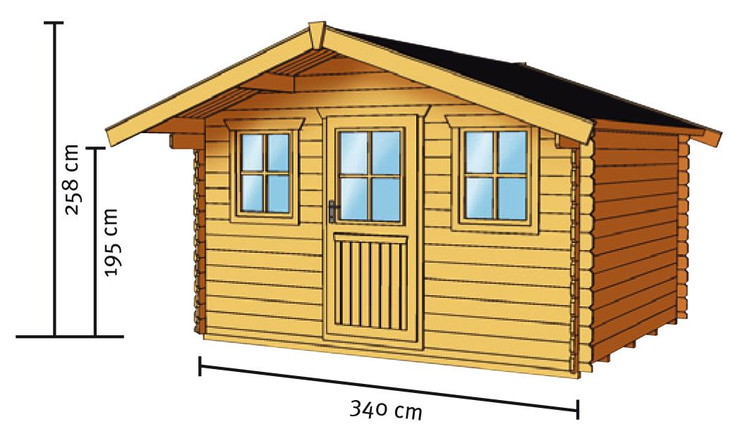 gartenhaus skanholz lagos blockbohlen holzhaus mit fenster gartenhaus aus holz g nstig. Black Bedroom Furniture Sets. Home Design Ideas