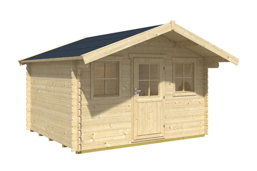 Gartenhaus selber bauen schnell und einfach zum haus im - Fenster einfachverglasung gartenhaus ...