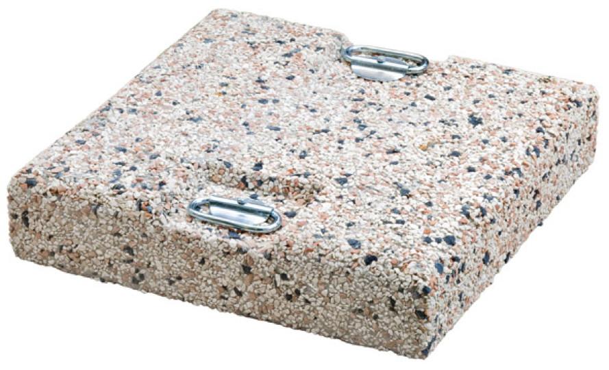 betonplatte scolaro kiesbetonplatte beschwerungsplatte f r schirmst nder gartenm bel fachhandel. Black Bedroom Furniture Sets. Home Design Ideas
