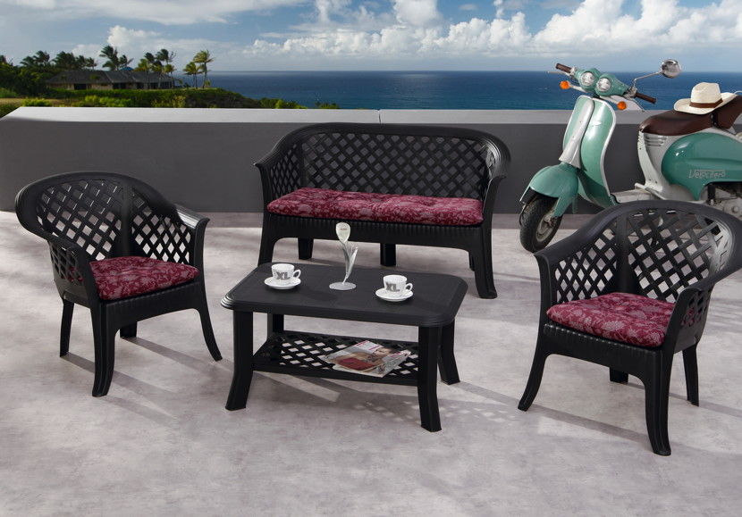 Gartentisch BEST «Alassio» Tisch Kunststofftisc