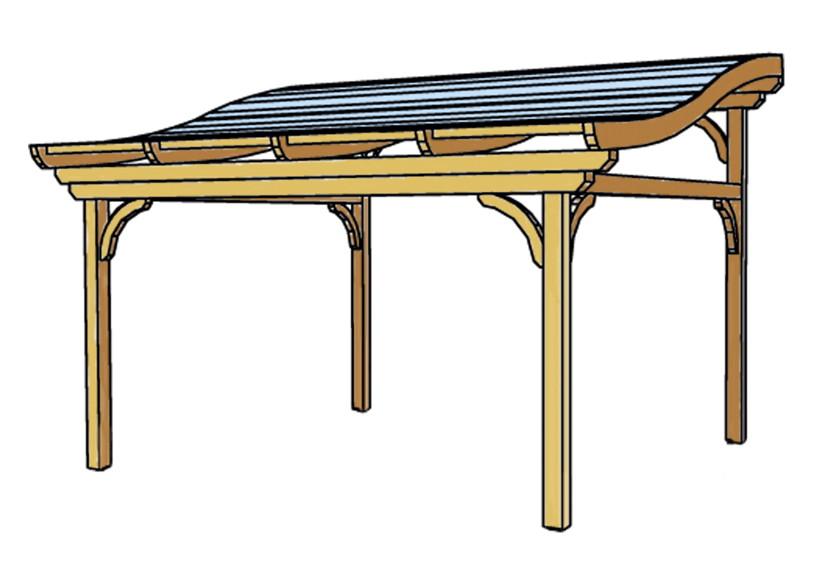 terrassen berdachung holz bausatz skanholz florenz freistehend geschwungen terrassendach vom. Black Bedroom Furniture Sets. Home Design Ideas