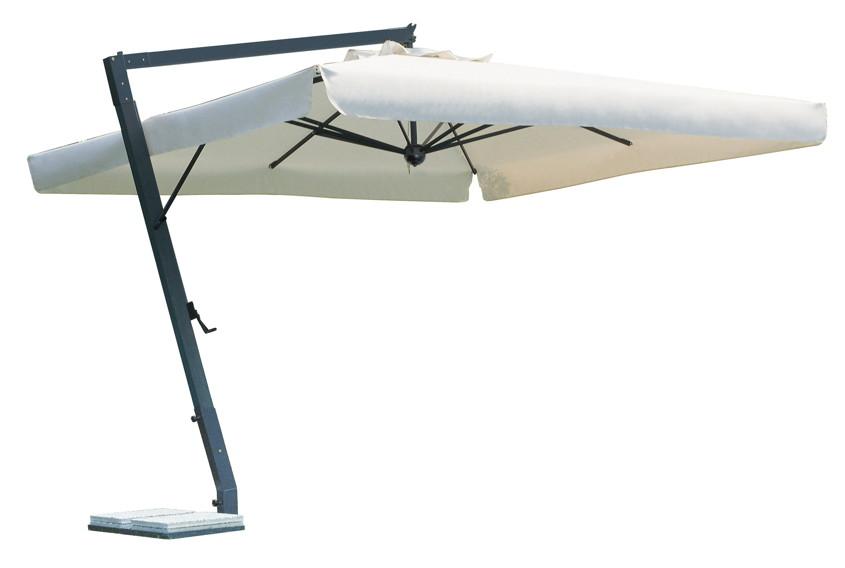 Sonnenschirm SCOLARO Leonardo Braccio 4x4 Ampelschirm, Alu hanging Parasol