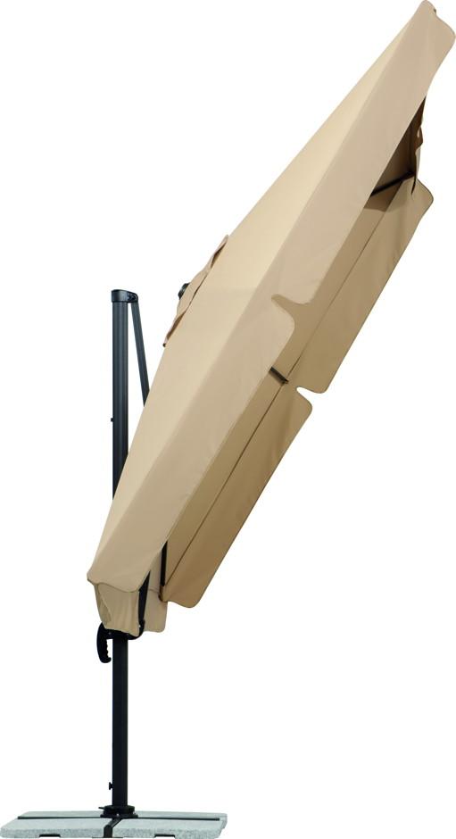 sonnenschirm schneider rhodos ampelschirm 300x300 cm 3m. Black Bedroom Furniture Sets. Home Design Ideas