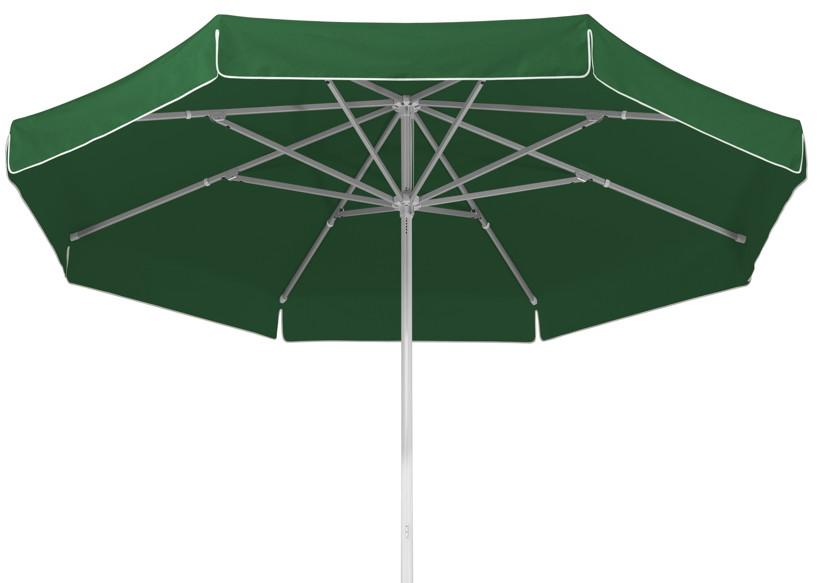 Sonnenschirm SCHNEIDER «Jumbo Ø400cm rund grün» Stockschirm