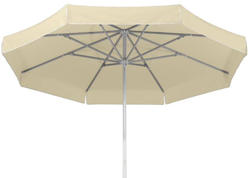 Sonnenschirm SCHNEIDER Jumbo Ø300cm rund natur Stockschirm Parasol