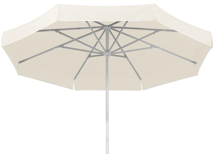Sonnenschirm SCHNEIDER Jumbo Ø300cm rund weiß Stockschirm Parasol