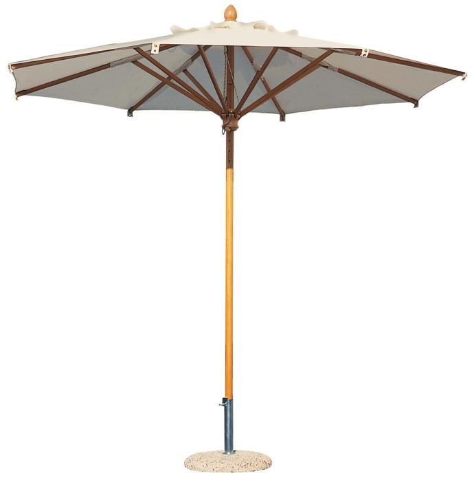 Sonnenschirm SCOLARO Palladio Standard Ø400 natur Stockschirm,