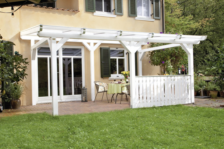 terrassen berdachung holz bausatz skanholz siena. Black Bedroom Furniture Sets. Home Design Ideas