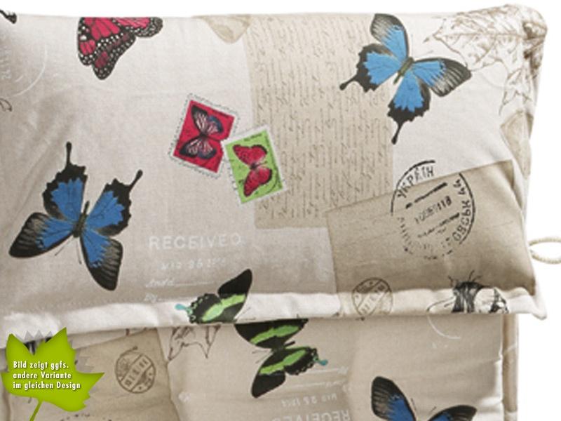 Auflage BEST TrendLine D1511 Schmetterlingsdessin