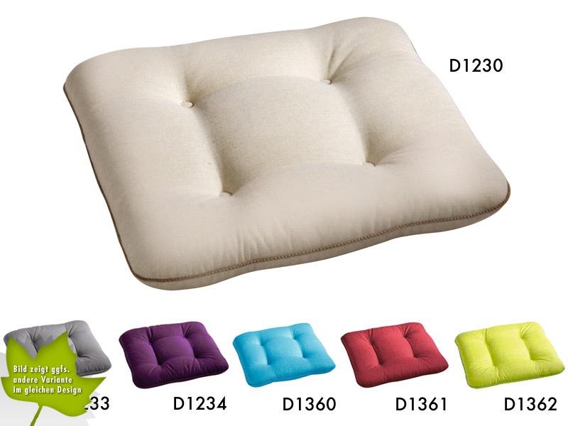 Auflage BEST Stuhlauflagen eckig Stuhlkissen