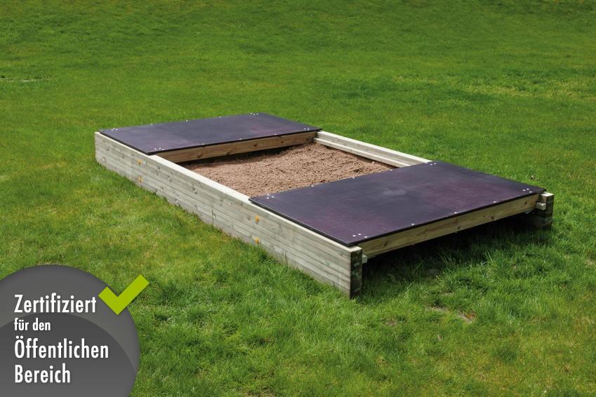 Sandkasten din en 1176 sandkasten mit abdeckung for Kinderpool mit abdeckung