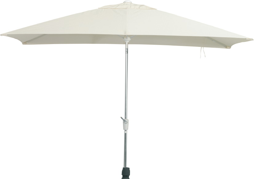 Aluminium-Sonnenschirm Madera 300x200 rechteckig Sonnenschutz Parasol eckig