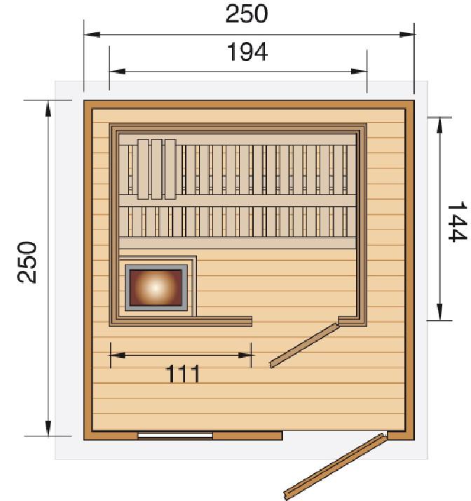 saunahaus weka mikkeli fronteinstieg sauna saunahaus. Black Bedroom Furniture Sets. Home Design Ideas