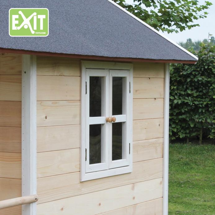 Kinderspielhaus Holz Hochwertig ~ sandy 50010100 EXIT Loft 100 blanco Detail 1 jpg