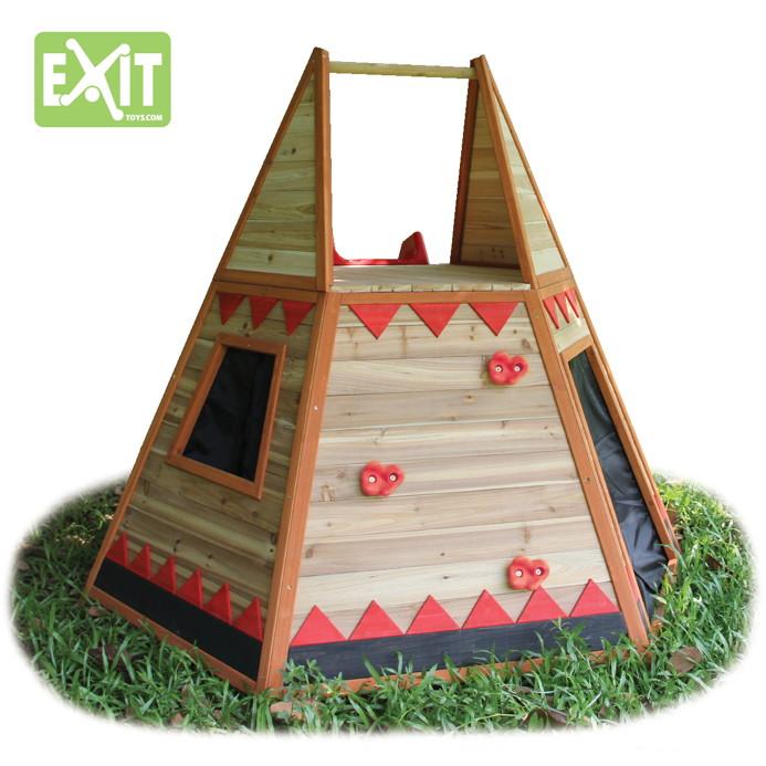 Kinderspielhaus Holz Hochwertig ~ sandy 50201000kinder spielhaus holz exit tipi 2 jpg